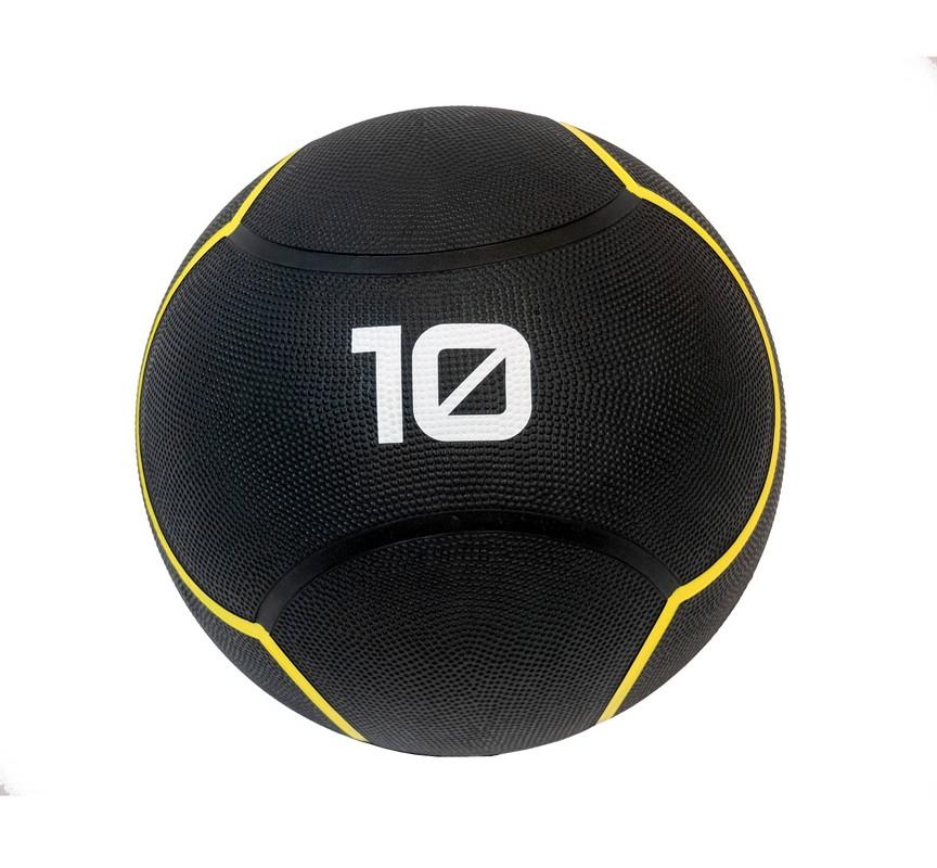 Купить Мяч тренировочный 10 кг Original Fit.Tools FT-UBMB-10 черный,