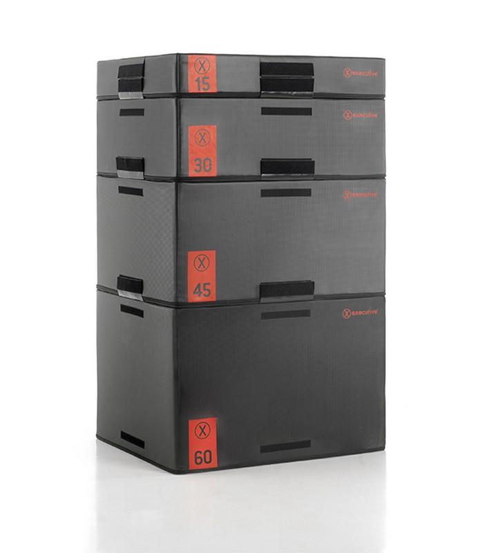 Набор из 4-х плиобоксов K-Well EXPBOX высота15-30-45-60 см