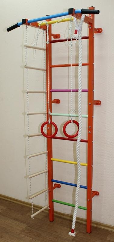 Купить Мини-7 дск (канат+лестница9+кольца) Plastep Мини-7,