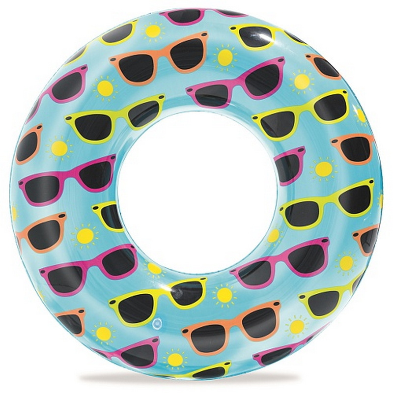 Купить Круг для плавания Bestway 76 см прозрачный 36057,