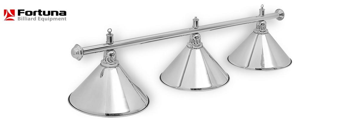 Светильник Fortuna Prestige Silver 3 плафона