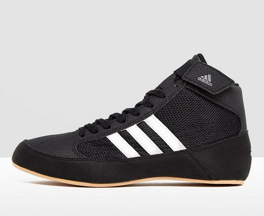 Борцовки Adidas HVC 2 черно-белые AQ3325