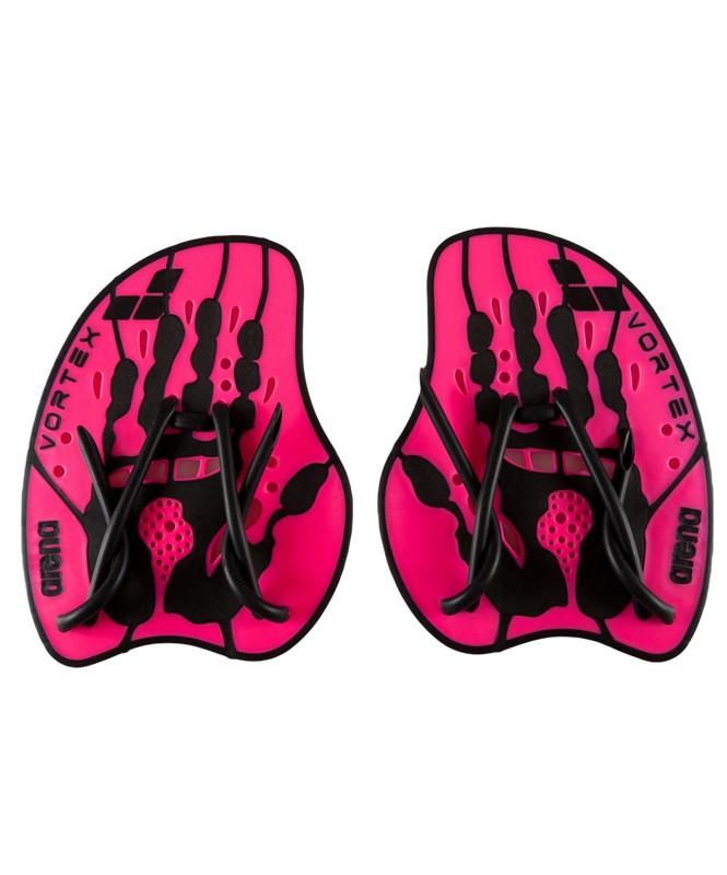 Лопатки Arena Vortex Evolution Hand Paddle 95232 95, размер M, Pink/Black