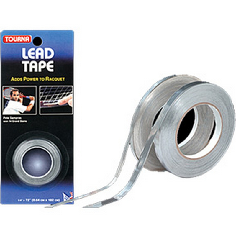 Утяжелитель для балансировки ракетки Tourna Lead Tape 32,9184 м x 1,3 см