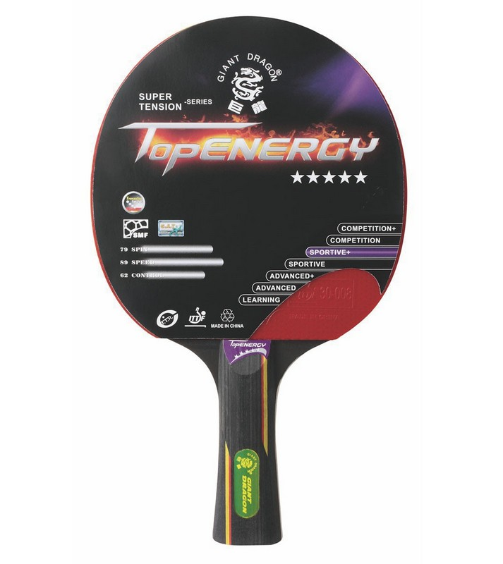 Ракетка для настольного тенниса Giant Dragon Topenergy ракетка для настольного тенниса torneo tour plustable tennis bat ti b3000