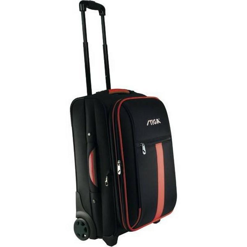 Сумка на колесах Stiga Trolley Bag Traveler 24, черно-красный