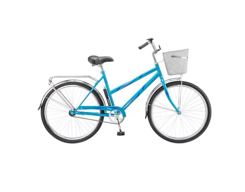Купить Велосипед Stels Navigator 26 200 Lady Z010 2020 Бирюзовый (с корзиной) (LU094046),