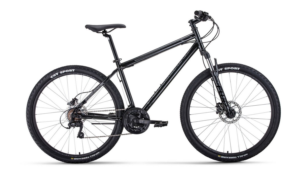 Купить Велосипед 27,5 Forward Sporting 27,5 3.0 disc Черный 19-20 г,
