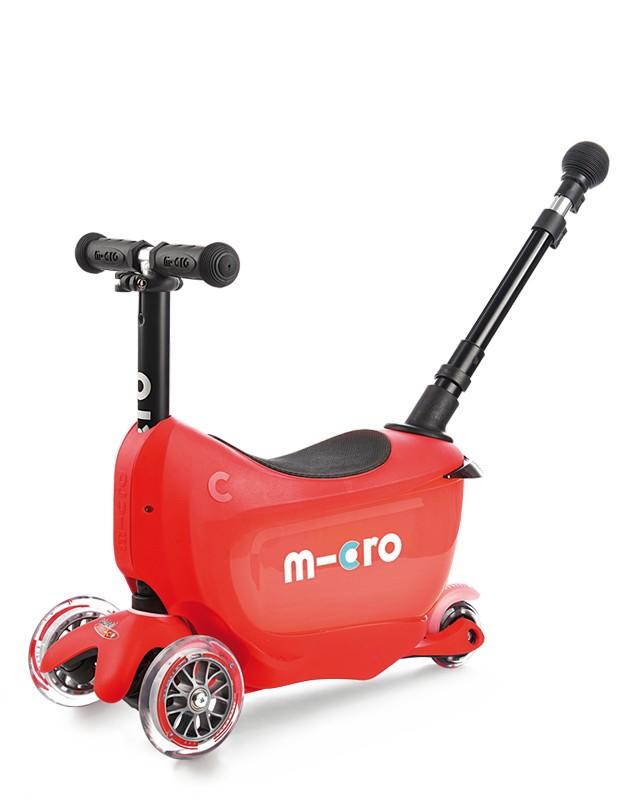 Самокат Micro Mini2go Deluxe Plus Red