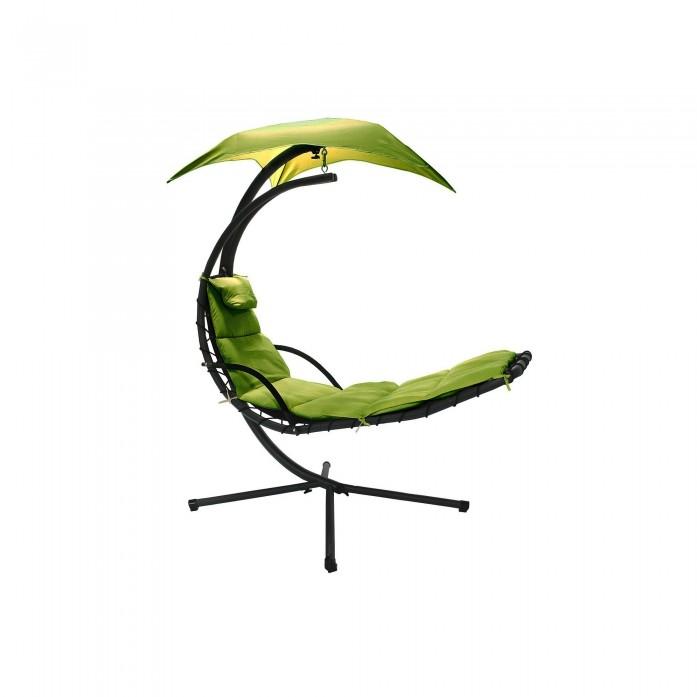 Шезлонг-качели подвесной GardenWay STAND100 зеленый