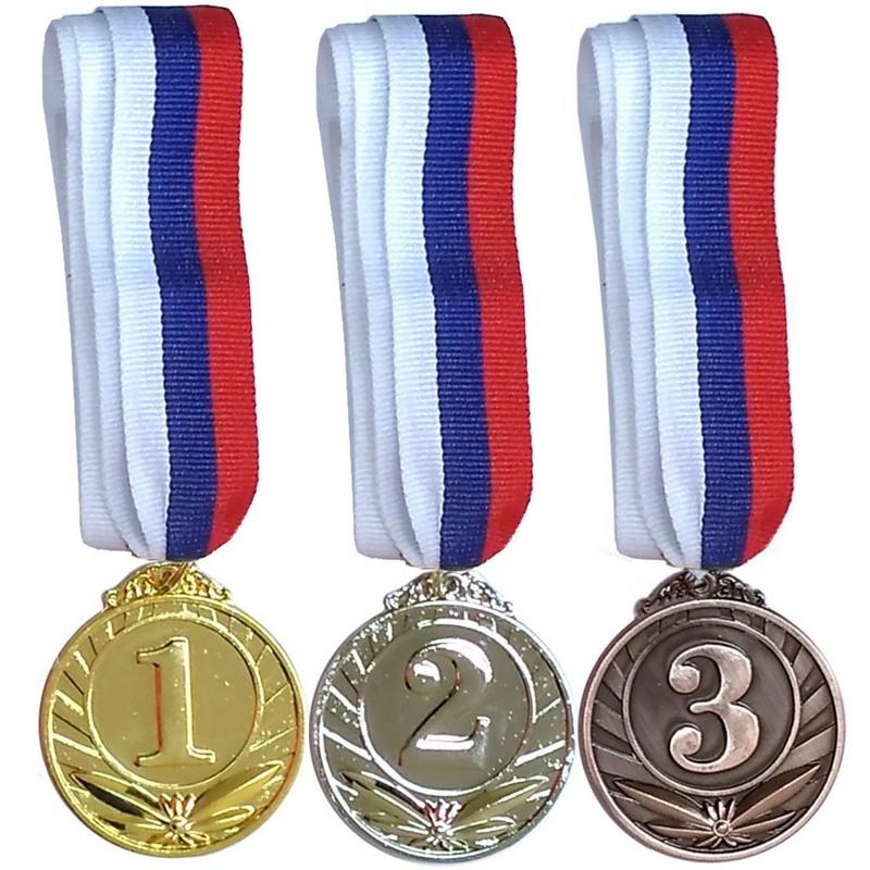 Медаль 3 место F18531 фото