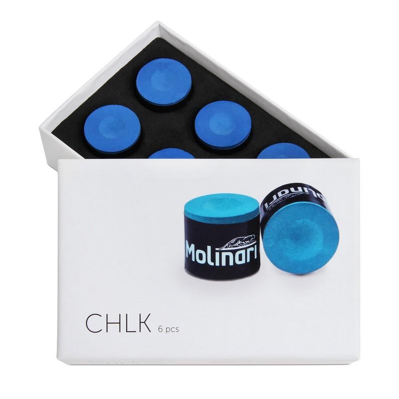Мел Molinari Chlk 6шт 09900 blue фото