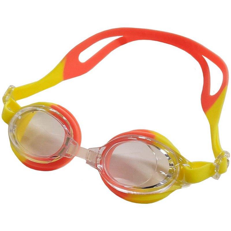 Купить Очки для плавания детские B31571 (желто-оранжевые), NoBrand