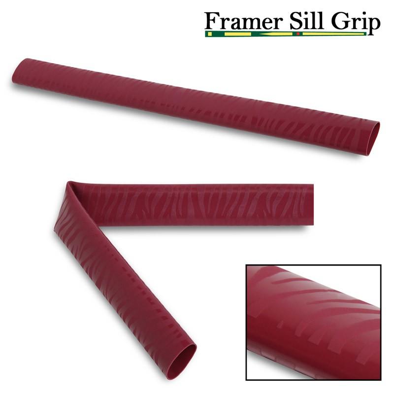 Обмотка для кия Framer Sill Grip V5, 06153 бордовая фото