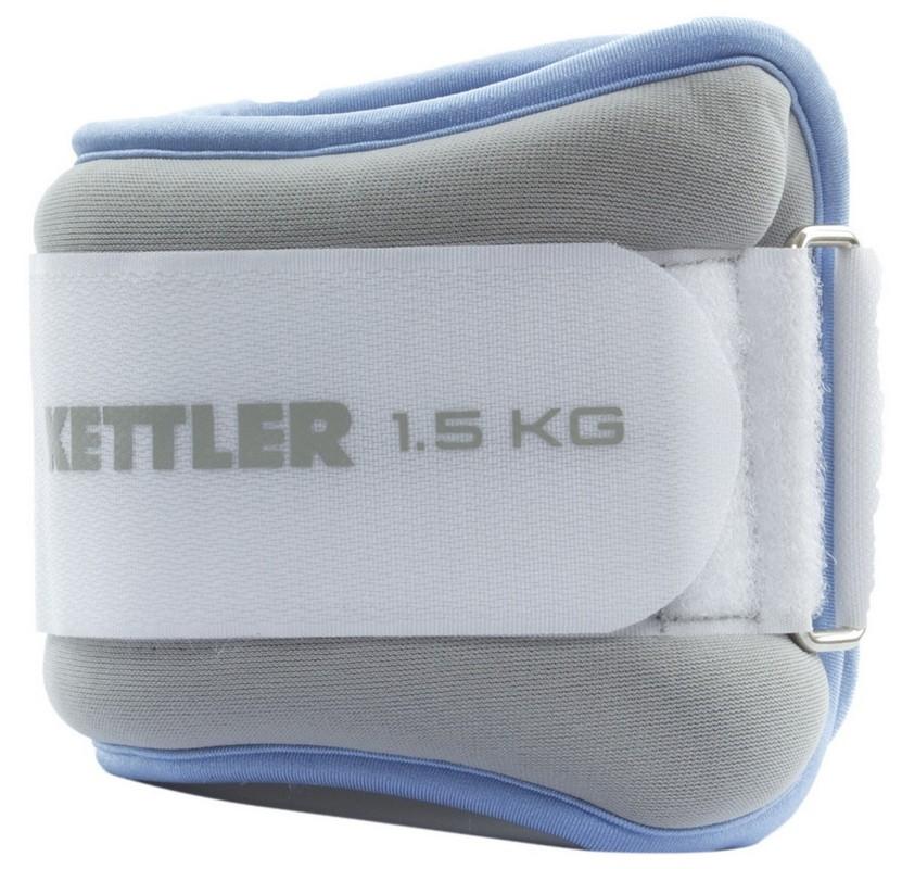 Утяжелители для ног 2х1,5 кг Kettler 7361-460 голубой-серый