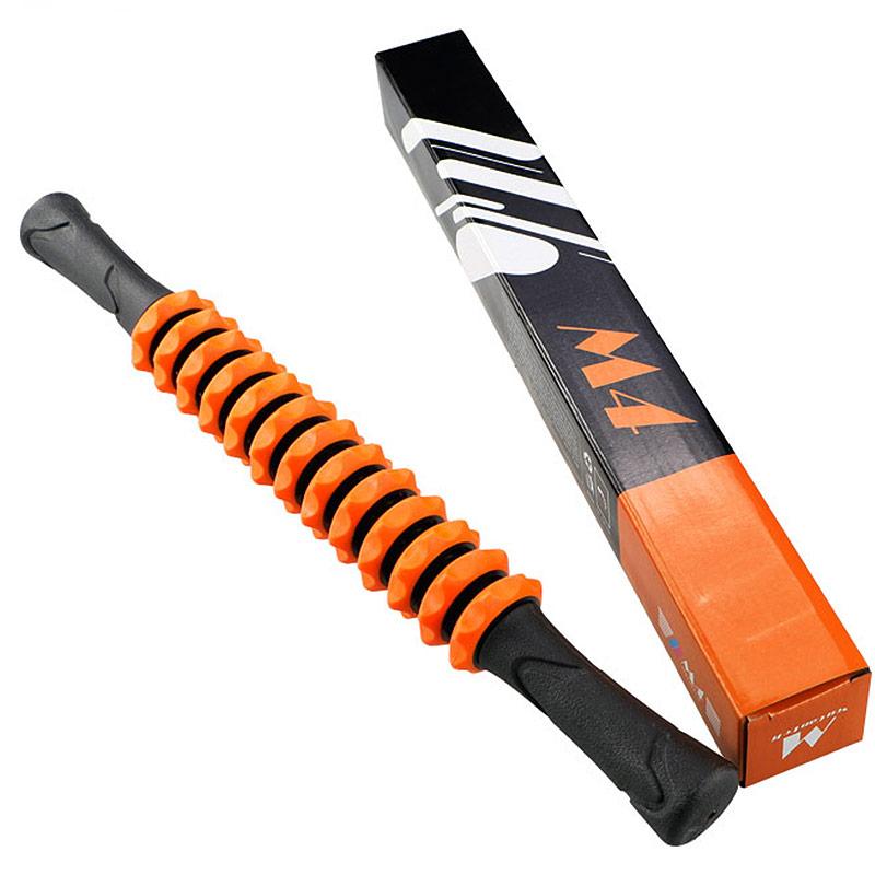 Купить Ролик палка гимнастическая массажная Hawk М4 (оранжевый) B31270-3,