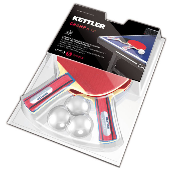 Набор для настольного тенниса с мячом Kettler Champ 7091-700 цена