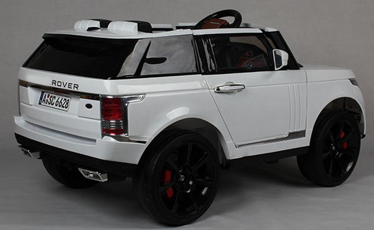 Детский электромобиль Joy Automatic Range Rover Vogue BJ6628 белый