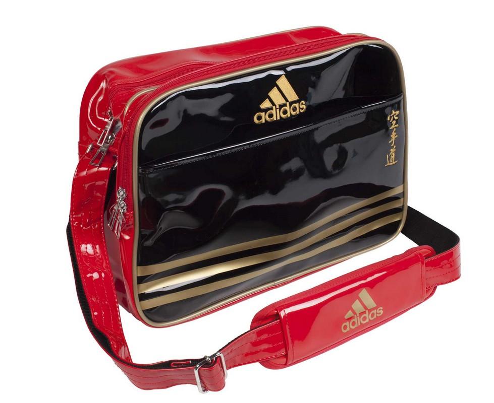 Сумка спортивная Adidas Sports Carry Bag Karate S черно-красно-золотая adiACC110CS2S-K yzea yzea спортивная сумка sports конус