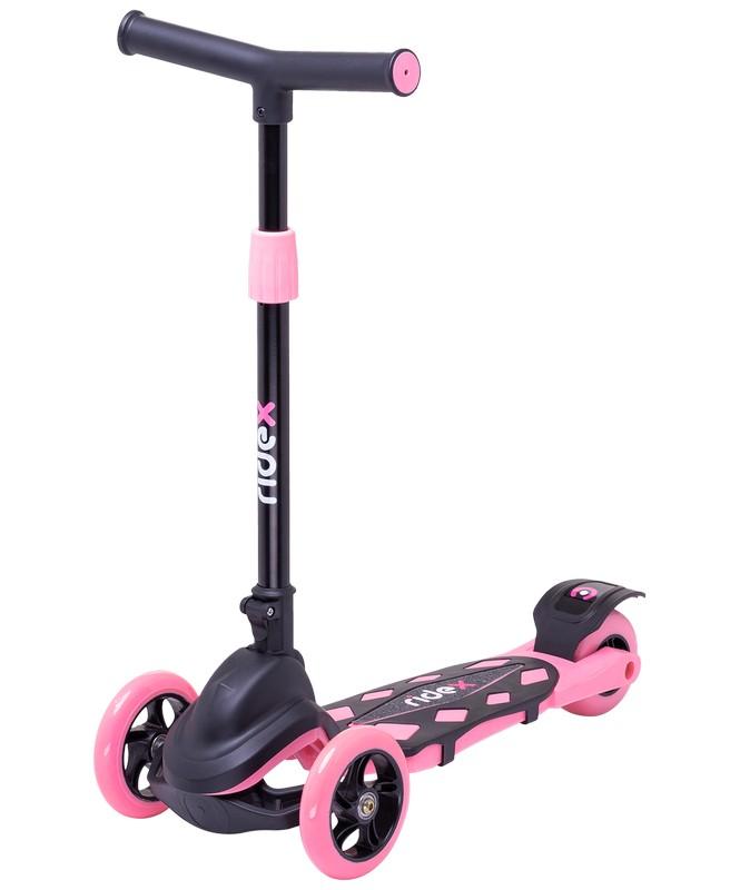 Купить Самокат 3-колесный Ridex Robin 3D 120/90 мм, розовый,