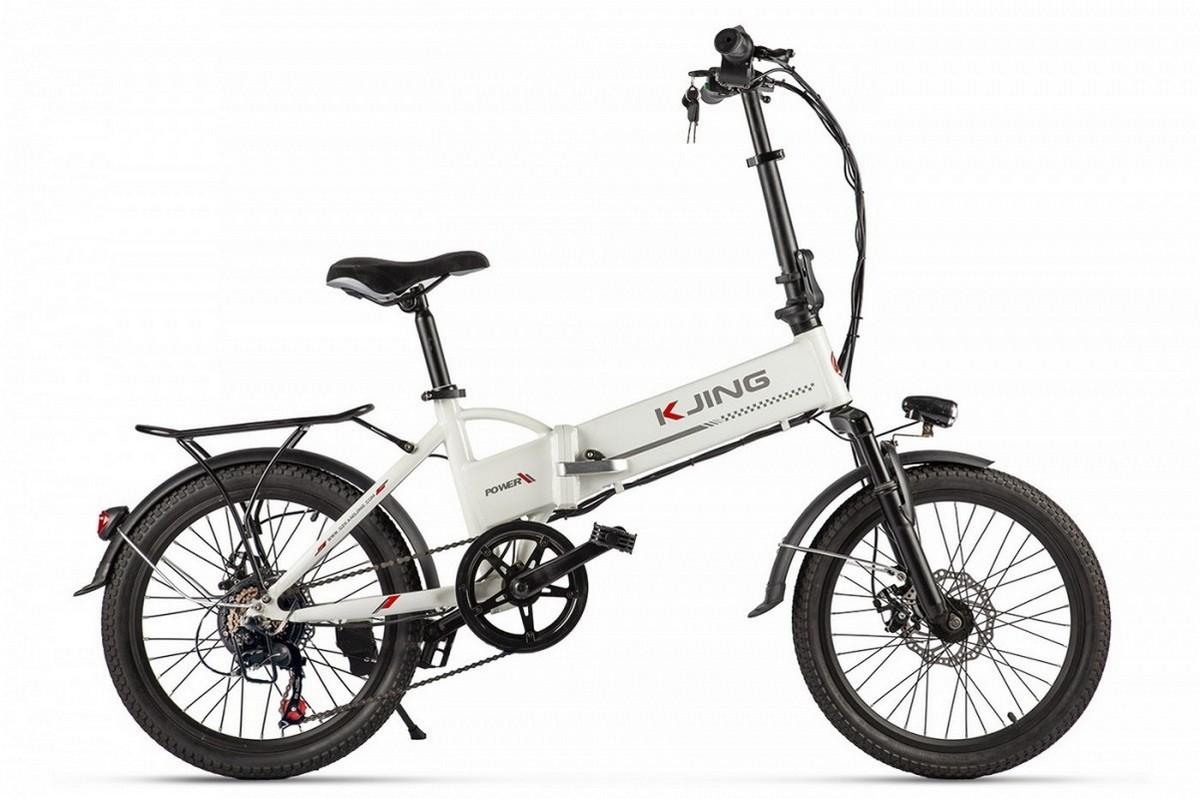 Велогибрид Kjing Spoke 022570-2320 белый