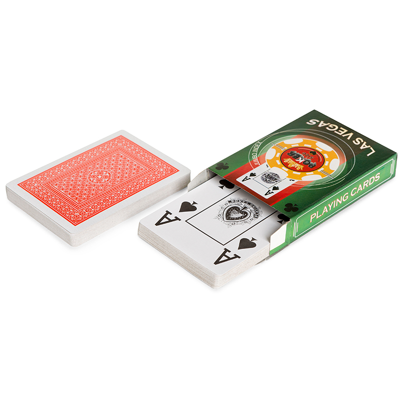 Карты для покера Las Vegas пластиковое покрытие dplvs