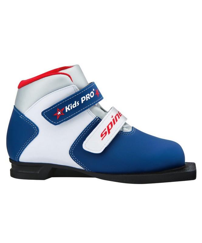 Ботинки лыжные Spine Kids Pro синт. кожа, NN75