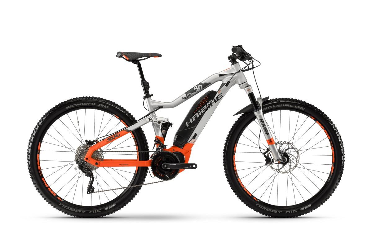 Электровелосипед HaiBike Sduro FullNine 8.0 500Wh 20s XT (2018)
