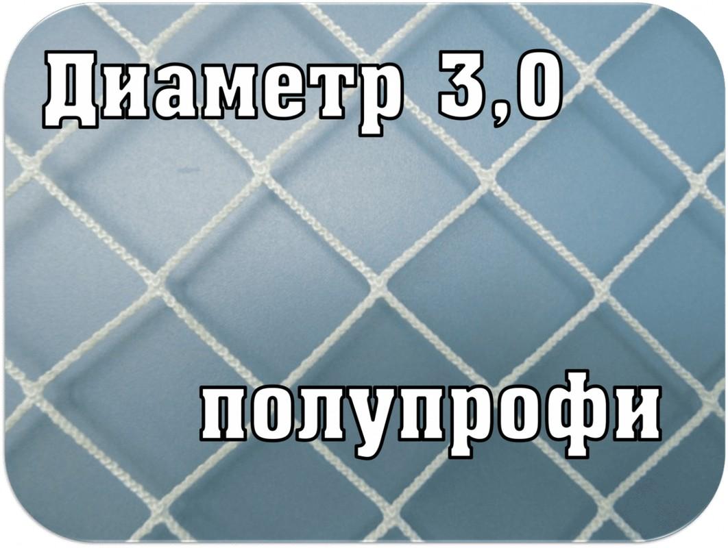 Сетка для хоккея SG полупрофи d=3,0мм SG-193,  - купить со скидкой