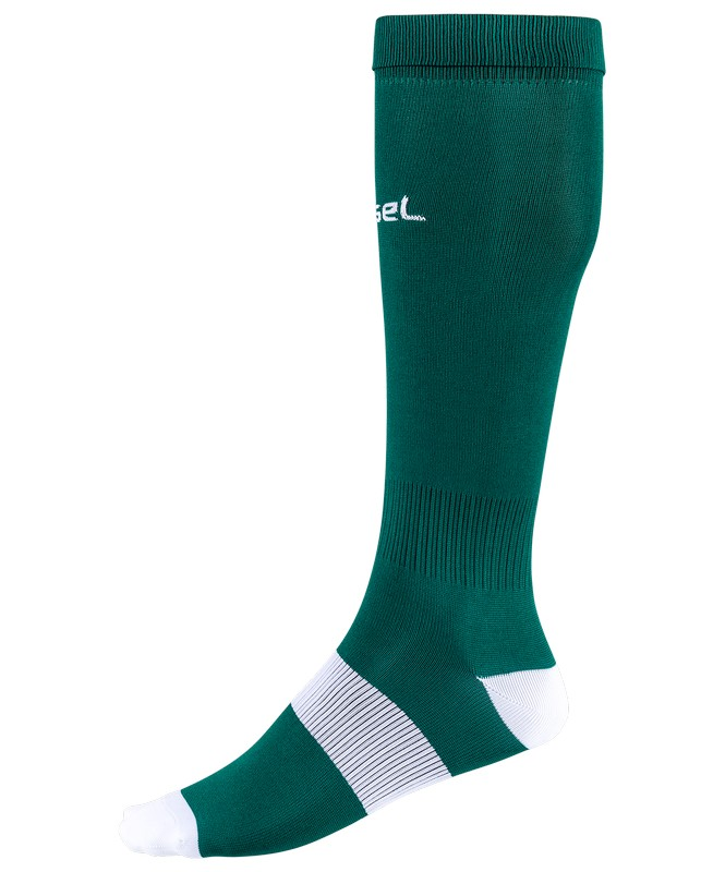 Гетры футбольные J?gel JA-001, зеленый/белый
