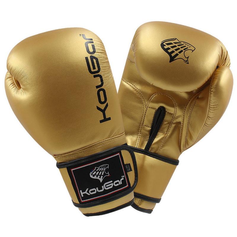 Боксерские перчатки Kougar KO600-4, 4oz, золото,  - купить со скидкой