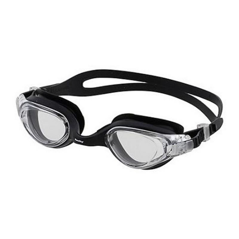 Очки для плавания Fashy Spark III, 4187-20 прозрачные линзы, черная оправа очки для плавания fashy kids match 4134 00 07 прозрачные линзы