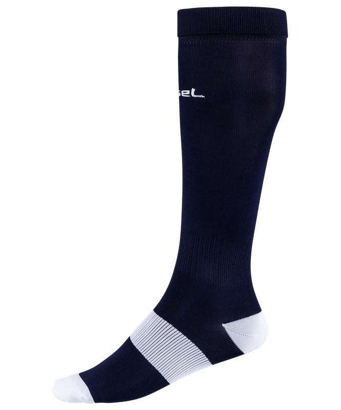 Гетры футбольные J?gel JA-001, т.синий/белый