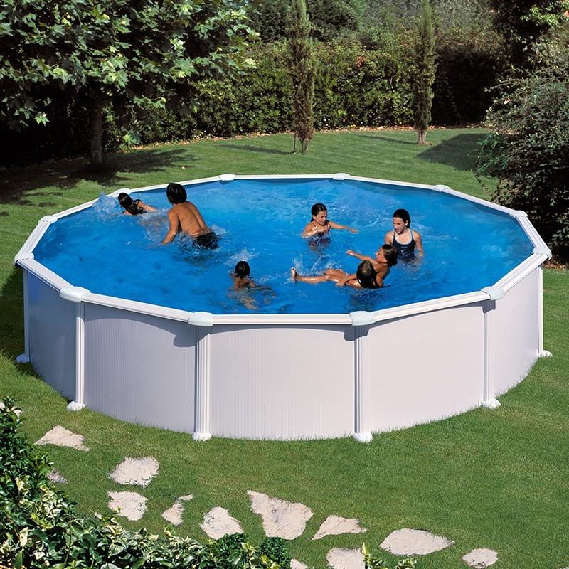 Купить Каркасный круглый бассейн 350х132 см GRE PR358MAG,