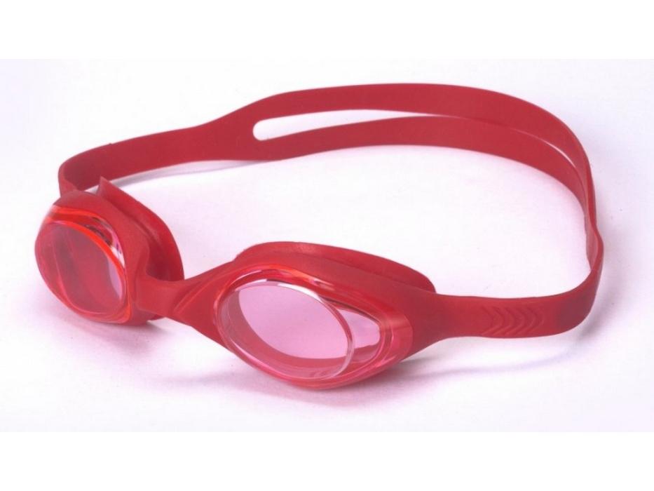 Очки для плавания Indigo детские (G6100) красные 6115 G