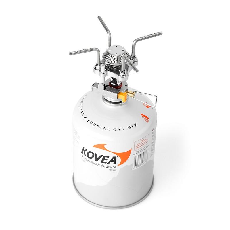 Горелка газовая Kovea Solo Stove KB-0409 kovea плитка газ tkr 9507 c керам горелка