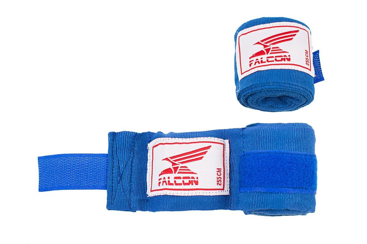 Бинт боксерский Falcon HWRP 1 355см, синий
