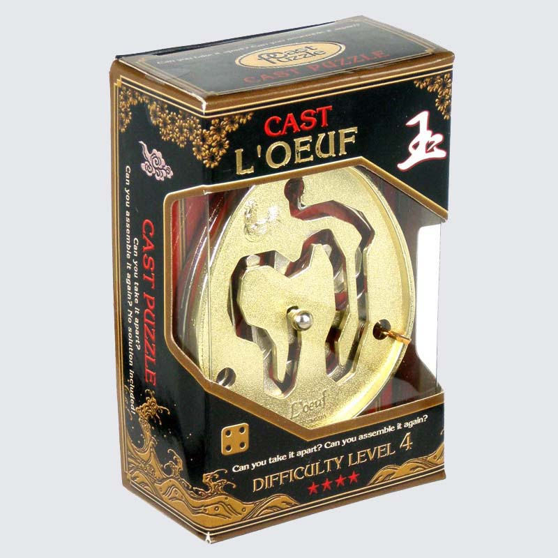 Купить Головоломка Яйцо****/ Cast Puzzle L'Oeuf****, NoBrand