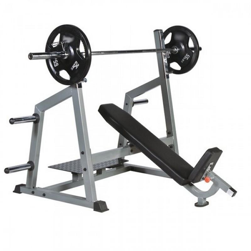 Скамья для наклонного жима штанги Hard Man HM-308 рама для силовой тренировки house fit hg 2107 power rack