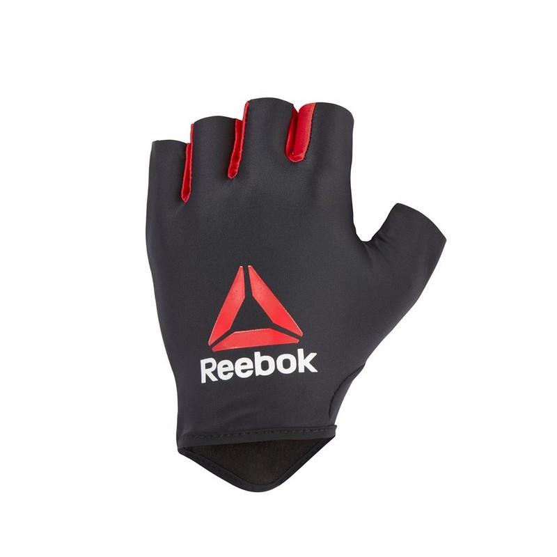 Купить Перчатки для фитнеса Reebok RAGB черныйкрасный,