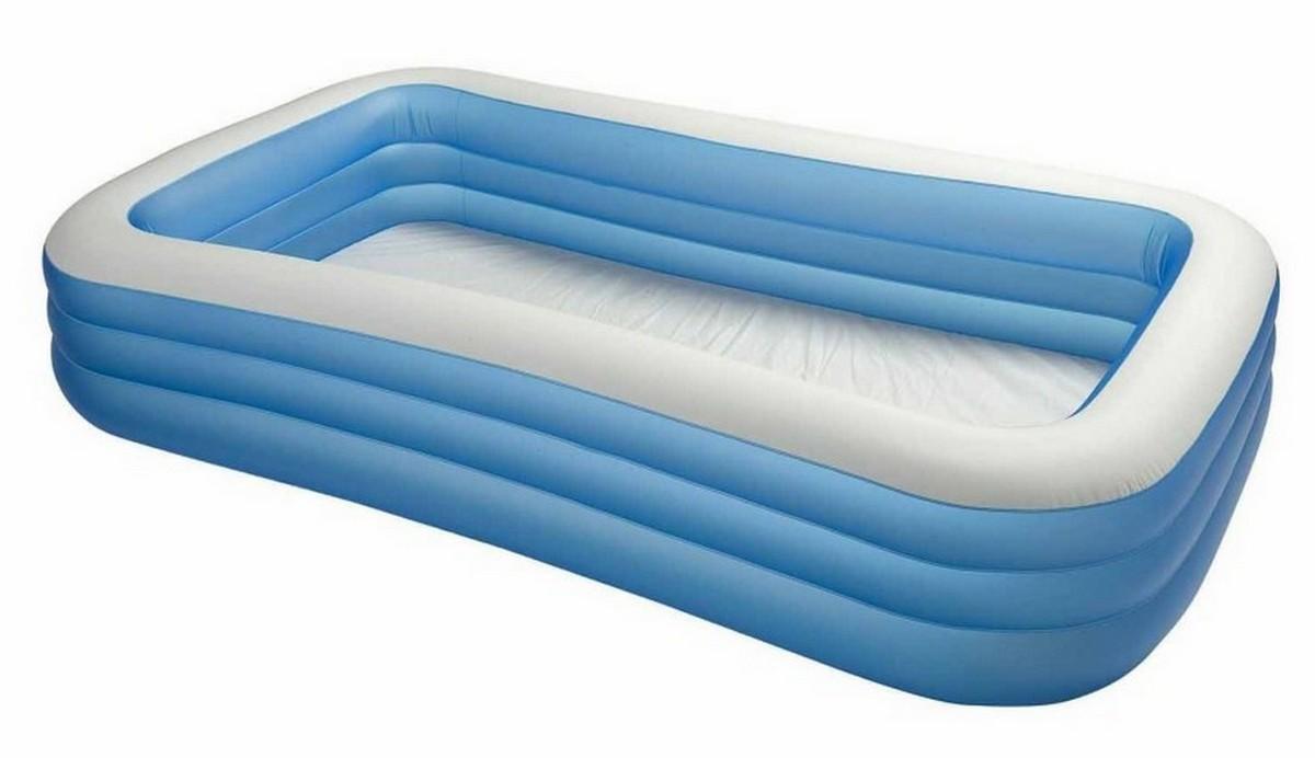 Купить Бассейн семейный Jilong Giant Rectangular Pool 3-ring 305x183x56 JL010184NPF, Детские надувные бассейны
