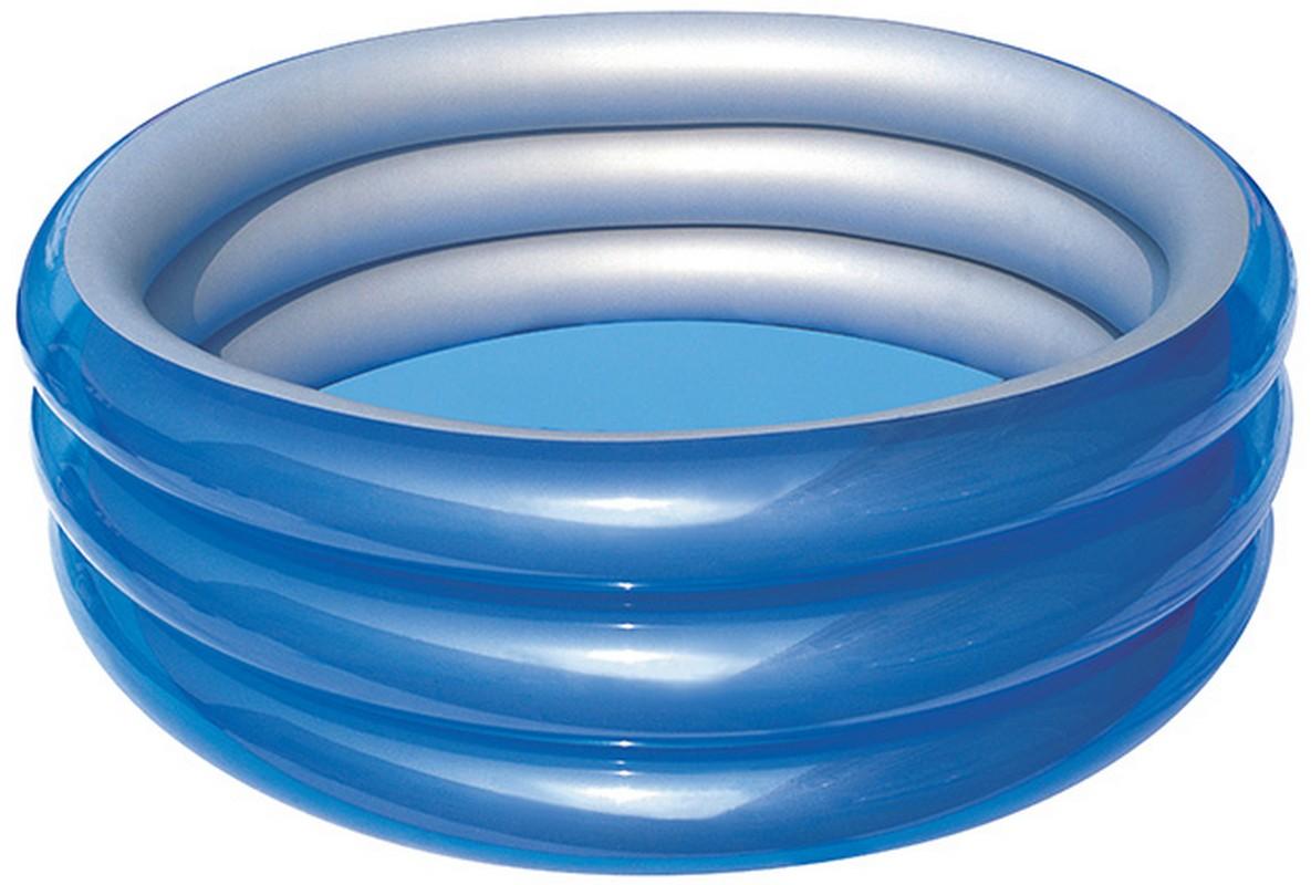 Купить Детский круглый бассейн Bestway Металлик 150х53 см 51041,