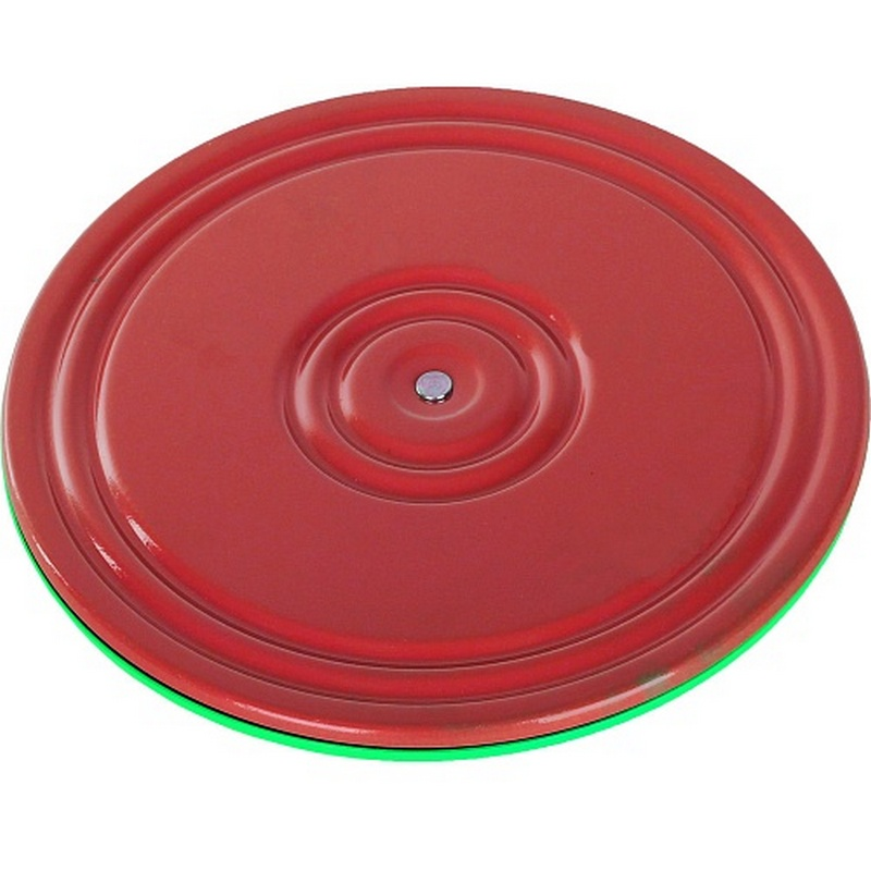 Диск Здоровье 2-х цветный, цвет красный-бирюзовый