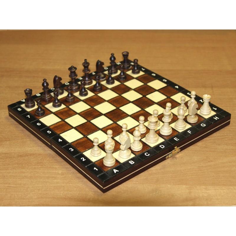 Купить Шахматы магнитные деревянные в комплекте с доской МШ 3, NoBrand