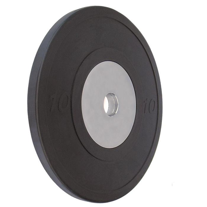 Купить Диск обрезиненный Vertex Crossfit D50мм 10 кг., черный,