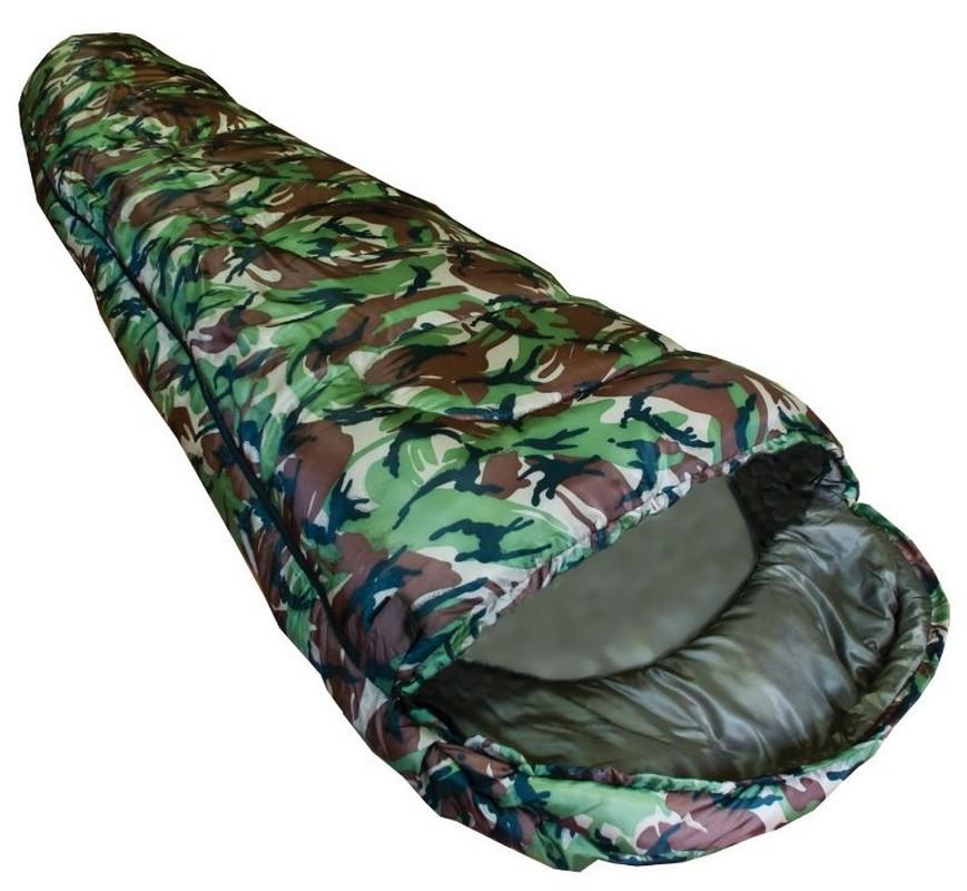 Спальный мешок туристический Novus 250 г/м2, 0 C Camo