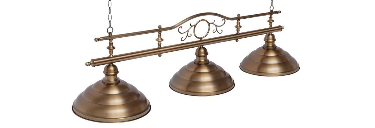 Купить Светильник Fortuna Modena bronze antique 3 плафона 08818,