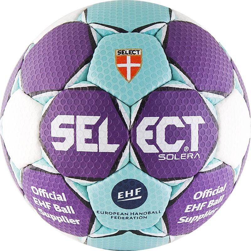 Мяч гандбольный Select Solera Junior р.2 843408-209 мяч футзальный select futsal talento 11 852616 049 р 3