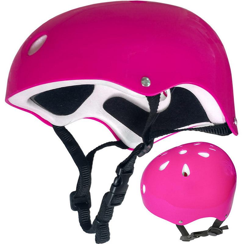 Купить Шлем защитный универсальный JR F11721-2 (розовый), NoBrand