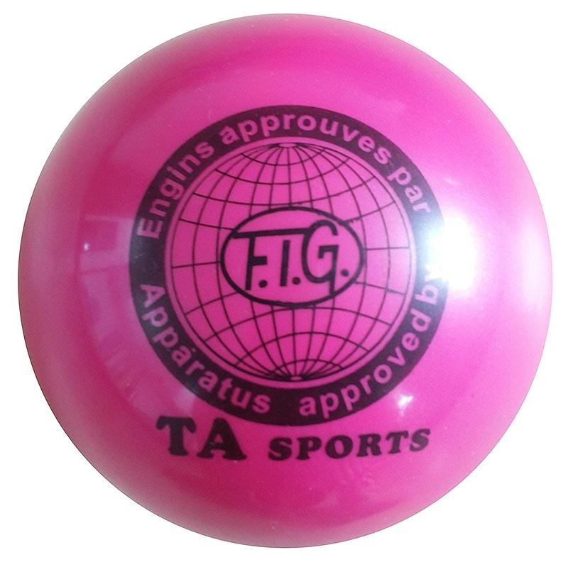 Купить Мяч для художественной гимнастики Indigo D=15 см розовый,